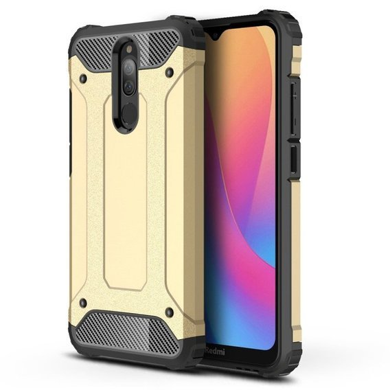 Etui TECH ARMOR do Xiaomi Redmi 8A - Gold