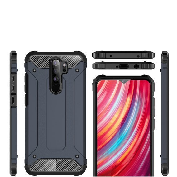 Etui TECH ARMOR do Xiaomi Redmi Note 8 Pro - Dark Blue
