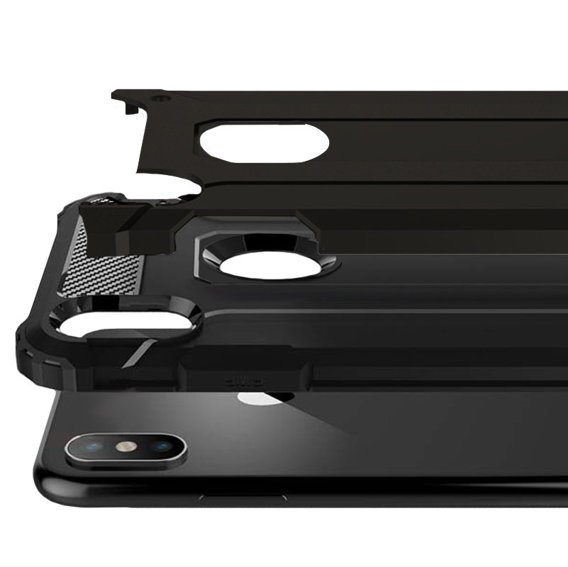 Etui TECH ARMOR do iPhone XS Max - Black
