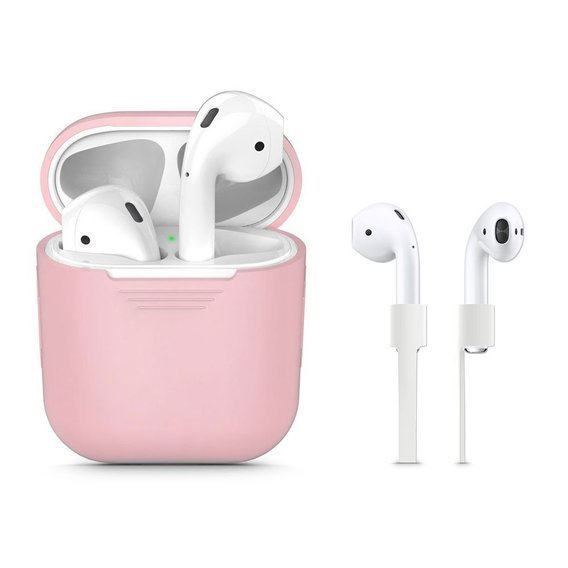 Etui Tech-Protect Iconset na Słuchawki Apple Airpods - Pink
