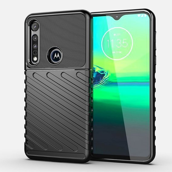 Etui Thunder do Motorola Moto G8 Play / One Macro - Black