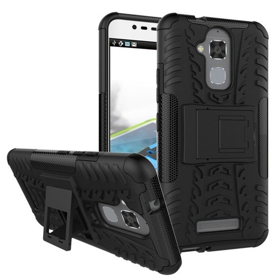 Etui Tire Armor do Asus Zenfone 3  Max ZC520TL - Black