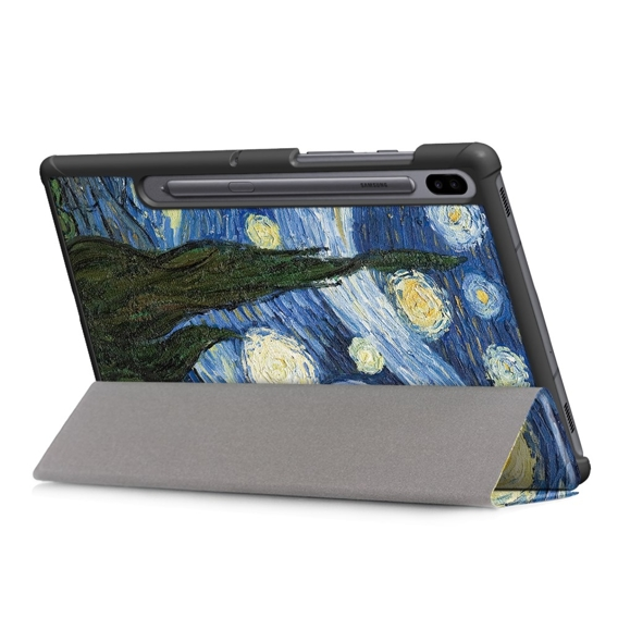 Etui Tri-Fold Cover do Samsung Galaxy Tab S6 10.5 - Moon