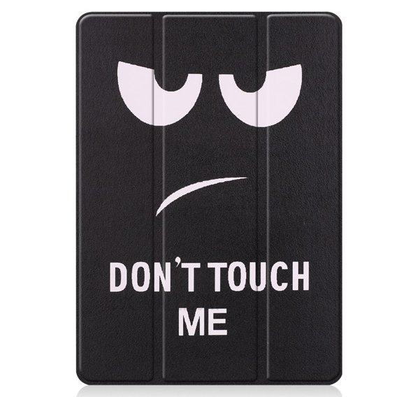 Etui Tri-Fold iPad 10.2 2019 - Pen Slot - Don't Touch Me