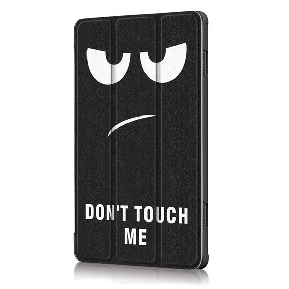 Etui Tri-fold do Lenovo Tab M10 TB-X605F/TB-X505- Don't touch me