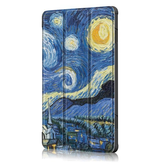 Etui Tri-fold do Lenovo Tab M10 TB-X605F/TB-X505- Night Sky