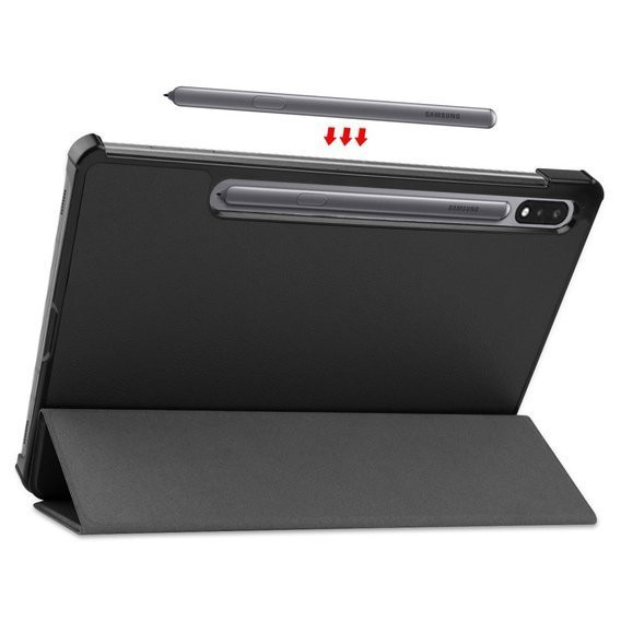 Etui Tri-fold do Samsung Galaxy Tab S7 - Black