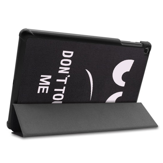 Etui TriFold Case do Samsung Galaxy Tab A 10.1 2019 SM-T515 - Don't Touch Me