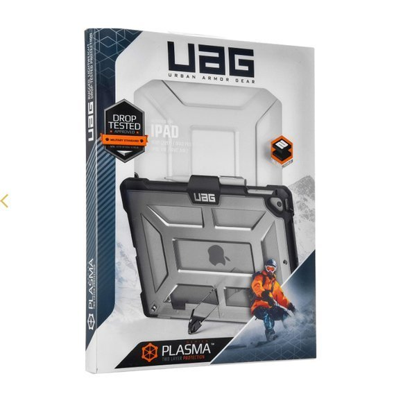 Etui UAG Plyo with Pencil Holder do Apple iPad 9.7 2017/2018 - Ice