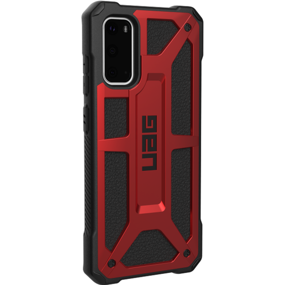 Etui UAG do Samsung Galaxy S20 - Urban Armor Gear - Monarch - Crimson Red