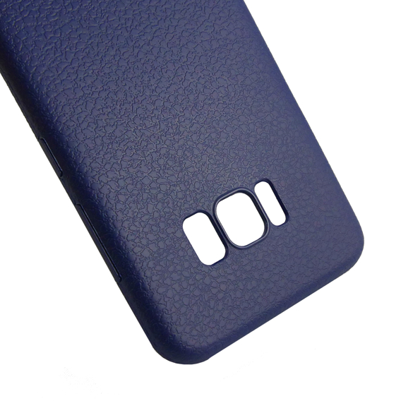 Etui Ultra Thin Leather GEL Samsung Galaxy S8 Plus - Blue