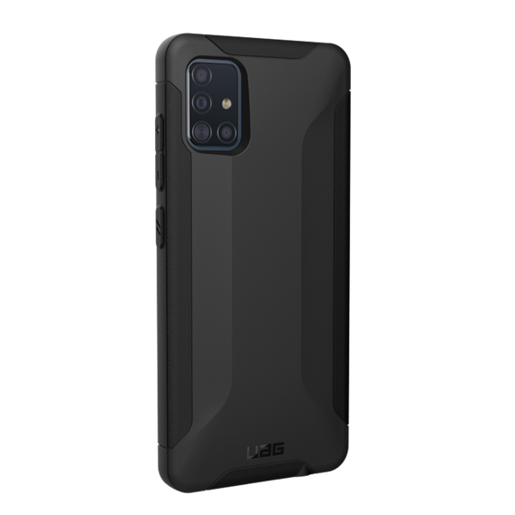 Etui Urban Armor Gear do Samsung Galaxy A51 - Scout - Black