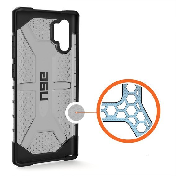 Etui Urban Armor Gear do Samsung Galaxy Note 10+ Plus - Plasma - Ash