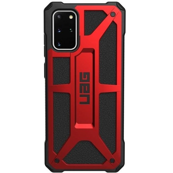 Etui Urban Armor Gear do Samsung Galaxy S20+ Plus - Monarch - Crimson Red
