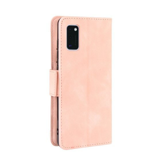 Etui Wallet Flexi Book do Samsung Galaxy A41 - Card Slot - Pink