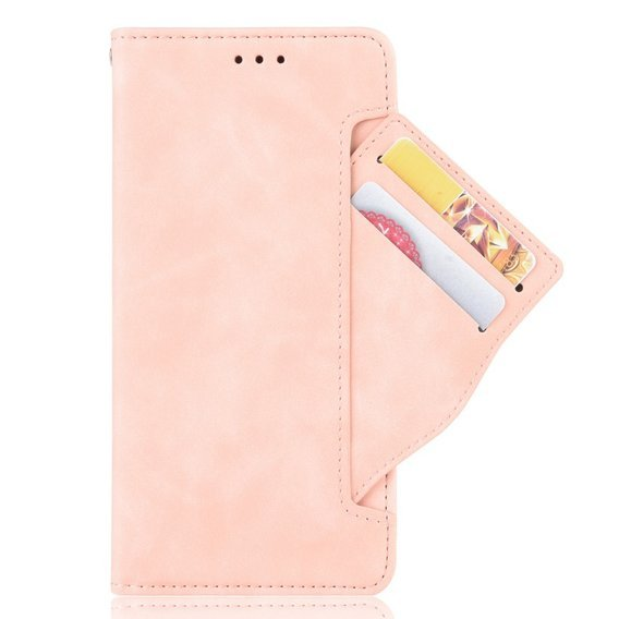 Etui Wallet Flexi Book do Xiaomi Mi Note 10 Lite - Card Slot - Pink