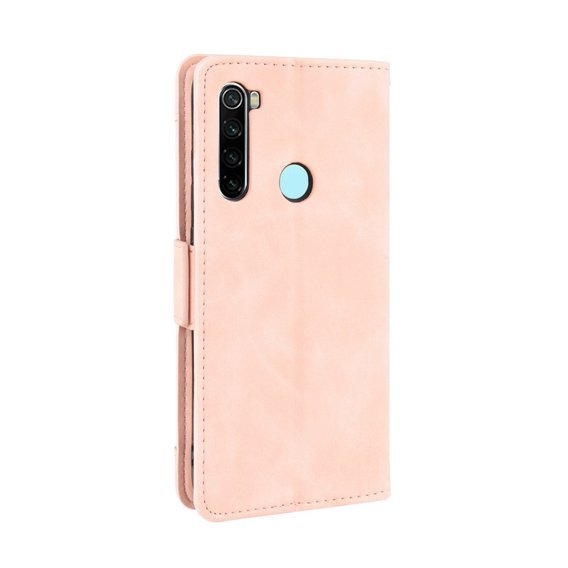 Etui Wallet Flexi Book do Xiaomi Redmi Note 8T - Card Slot - Pink