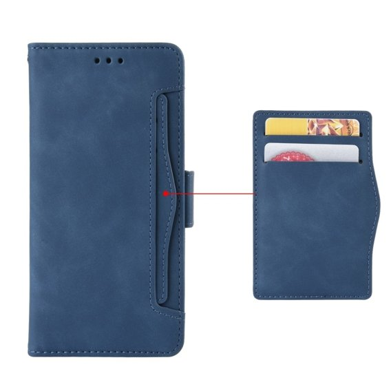 Etui Wallet do Huawei P40 Lite, Card Slot, Blue