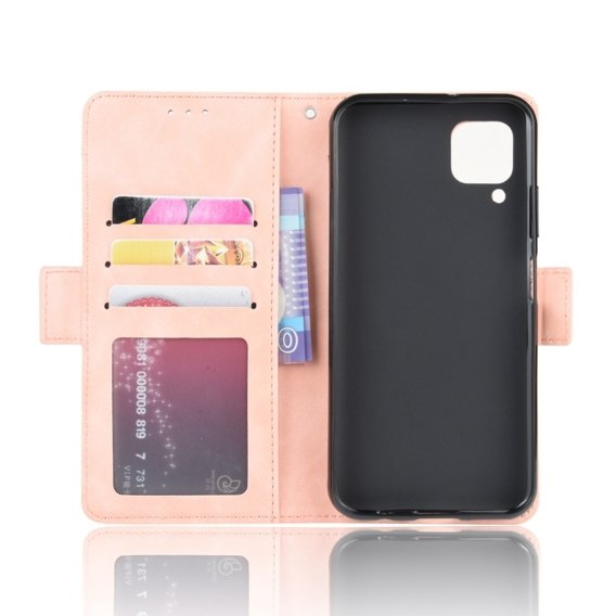 Etui Wallet do Huawei P40 Lite, Card Slot, Pink