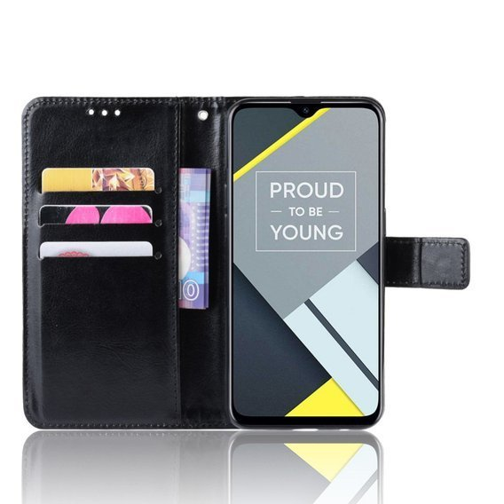 Etui Wallet do Oppo A1k - Black