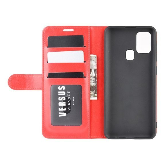 Etui Wallet do Samsung Galaxy A21S - Red