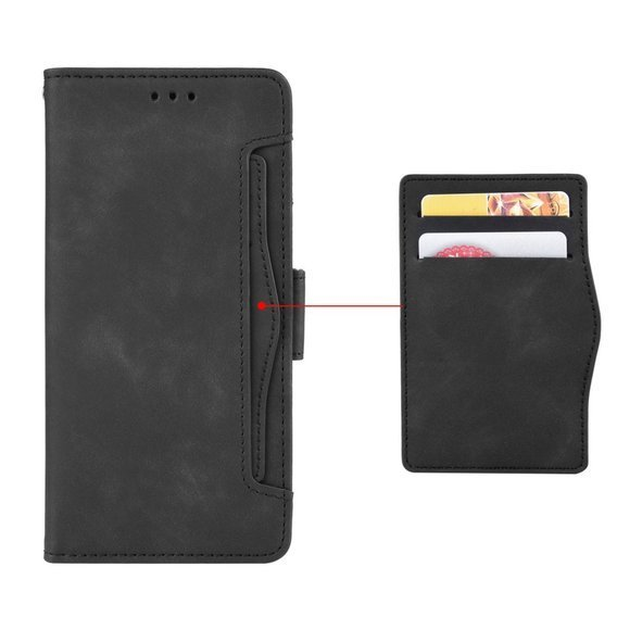 Etui Wallet do Samsung Galaxy A31, Card Slot, Black