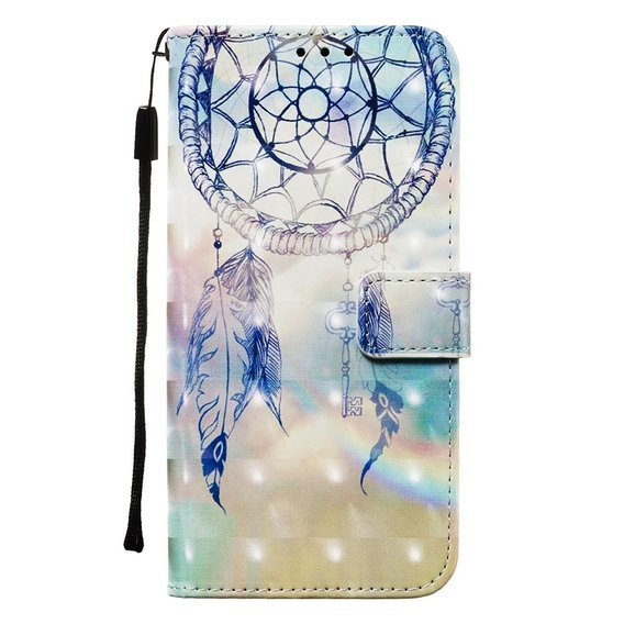 Etui Wallet do Samsung Galaxy A51 - Feather Dream Catcher