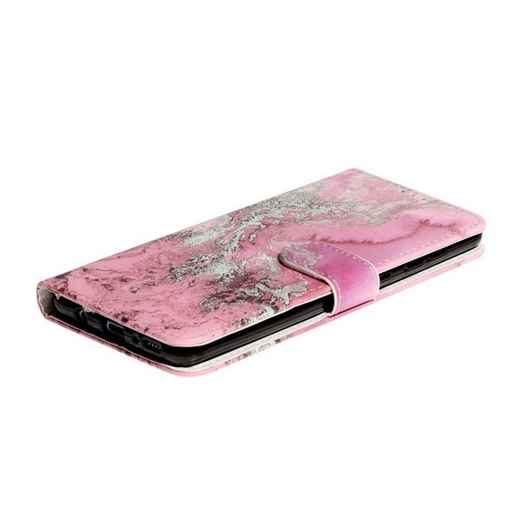 Etui Wallet do Samsung Galaxy A51 - Rose Marble