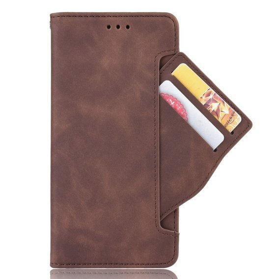 Etui Wallet do Xiaomi Redmi Note 8T, Card Slot, Brown