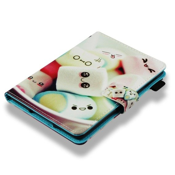 Etui do Amazon Kindle Paperwhite 4 2018, Book Stand Case, Cotton Candy