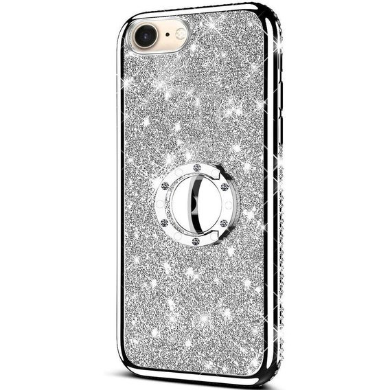 Etui do Apple iPhone 7 / 8 - ERBORD Bling - Silver