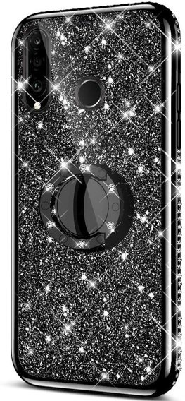 Etui do Huawei P30 Lite - ERBORD Bling - Black