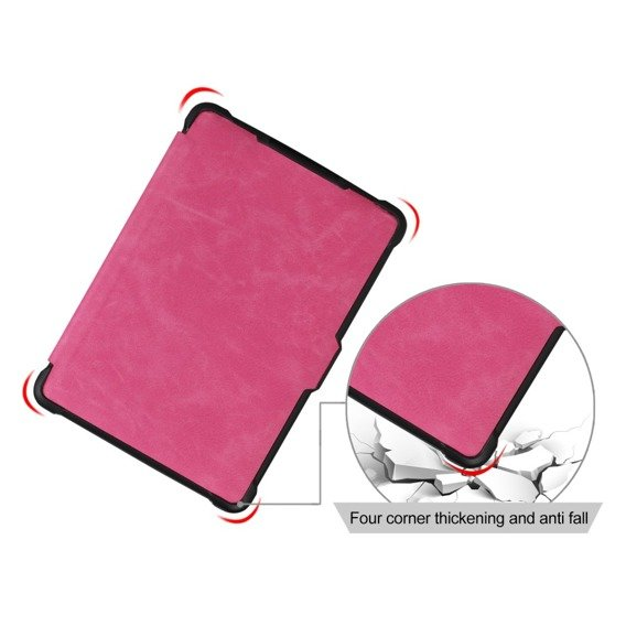 Etui do Kindle Paperwhite 1/2/3, Protection Case, Pink