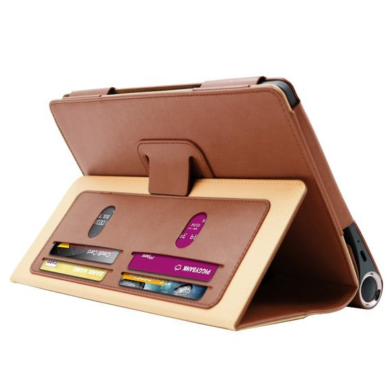 Etui do Lenovo Yoga Smart Tab 10.1, Business Style Stand Case, Brown