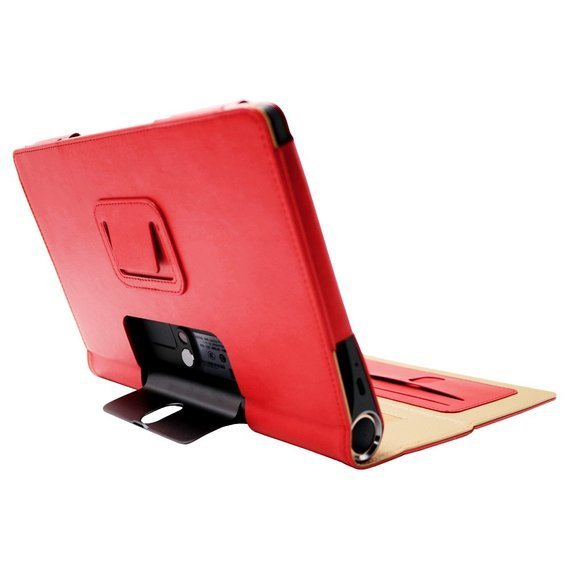 Etui do Lenovo Yoga Smart Tab 10.1, Business Style Stand Case, Red