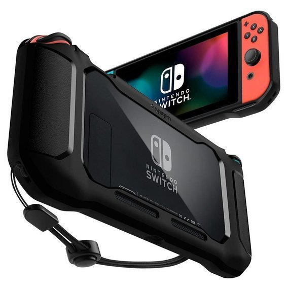 Etui do Nintendo Switch, SPIGEN, Rugged Armor, Black