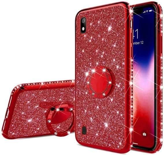 Etui do Samsung Galaxy A10 - ERBORD Bling - Red