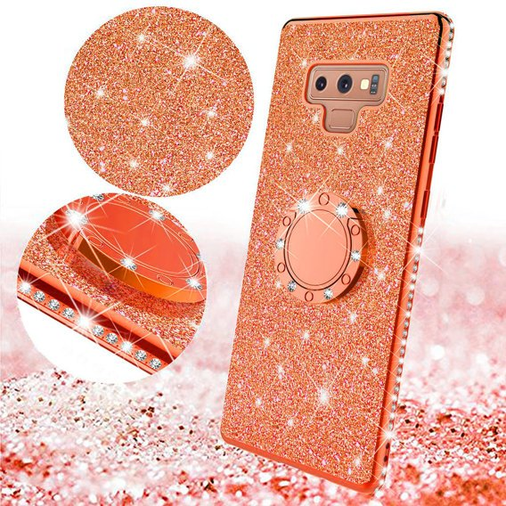 Etui do Samsung Galaxy Note 9 - ERBORD Bling - Red