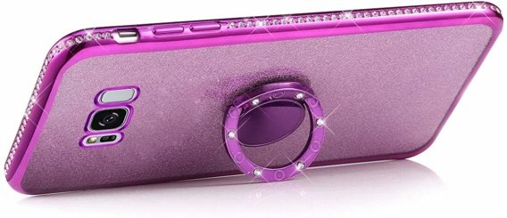 Etui do Samsung Galaxy S8 - ERBORD Bling - Purple