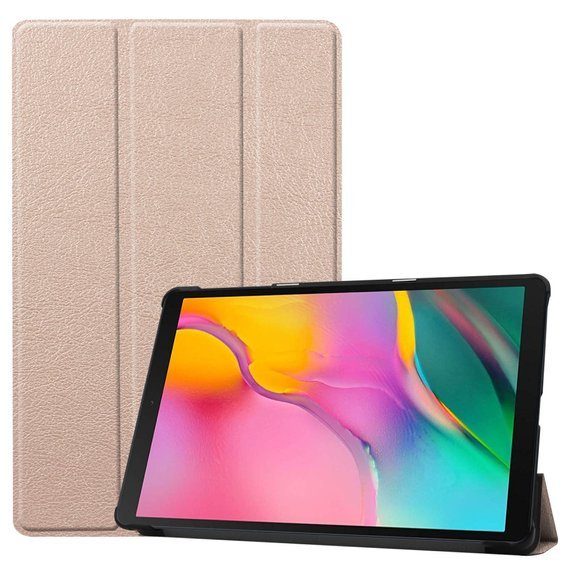Etui do Samsung Galaxy Tab A 10.1 2019 T510/T515, Tri-Fold, Gold