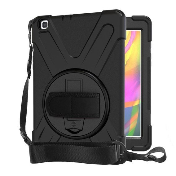 Etui do Samsung Galaxy Tab A 8.0 2019 T290/T295, X-Shape Case, Black