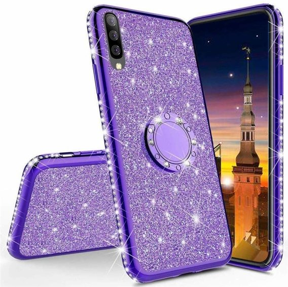 Etui do Xiaomi Mi 9 Lite - ERBORD Bling - Purple