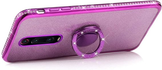 Etui do Xiaomi Mi 9T / 9T Pro - ERBORD Bling - Purple