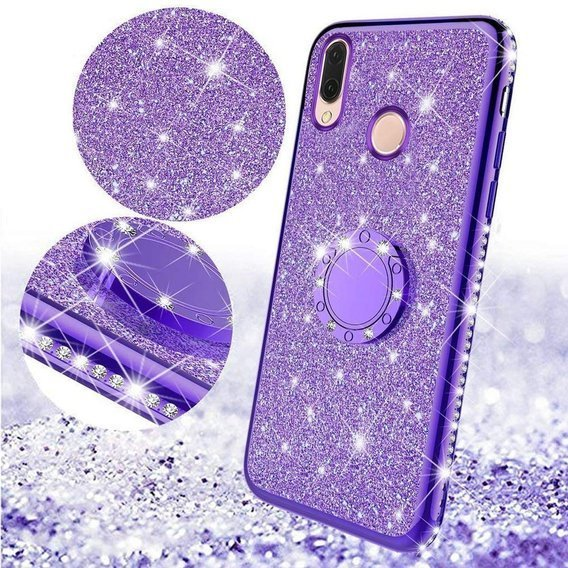 Etui do Xiaomi Redmi 7 - ERBORD Bling - Purple