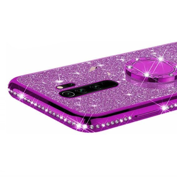Etui do Xiaomi Redmi Note 8 Pro - ERBORD Bling - Purple