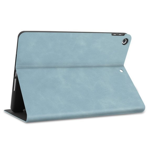 Etui do iPad 7/8 10.2 2019/2020, Leather Stand Case, Baby Blue