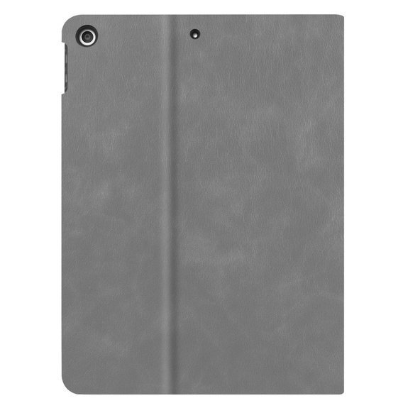 Etui do iPad 7/8 10.2 2019/2020, Leather Stand Case, Grey