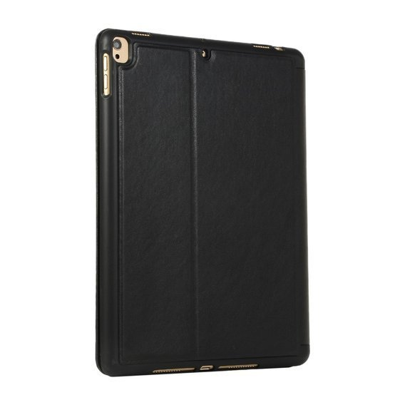 Etui do iPad 7/8 10.2 2019/2020, PU Leather Wallet, Black