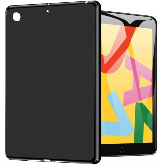 Etui do iPad 7/8 10.2 2019/2020, Silicone Case, Black