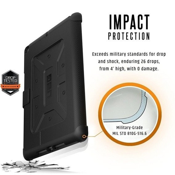 Etui do iPad 9.7 2017/2018  - Urban Armor Gear - Metropolis -  Black